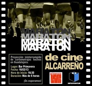 Maratón Cortos Cartel