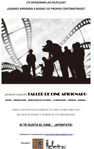 Cartel Taller Cine Cabanillas